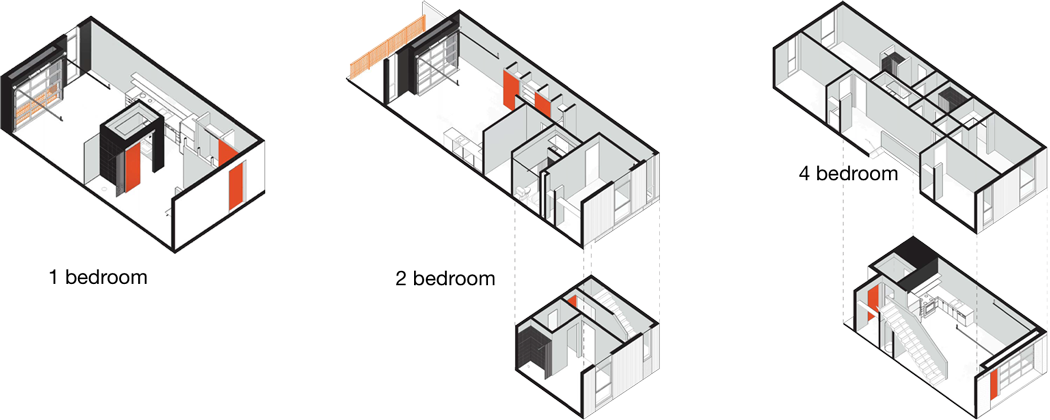 Freight Residences floorplans